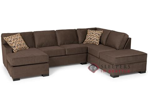 Sofa Sleeper With Chaise Customize And Personalize 146 Chaise Sectional Fabric Sofa By Stanton Chaise Sectional Size