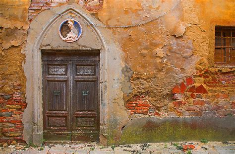 tuscan landscape paintings for sale door by