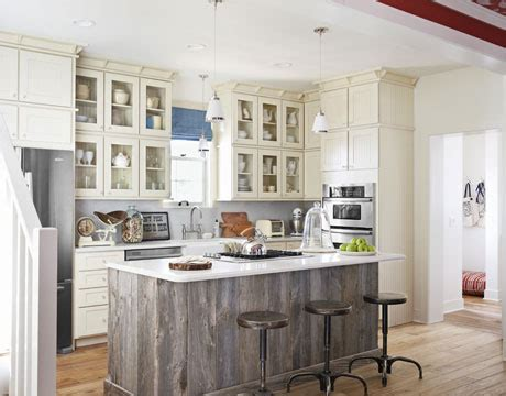barn board kitchen island design ideas painted kitchen cabinetry remains in style the reno projects