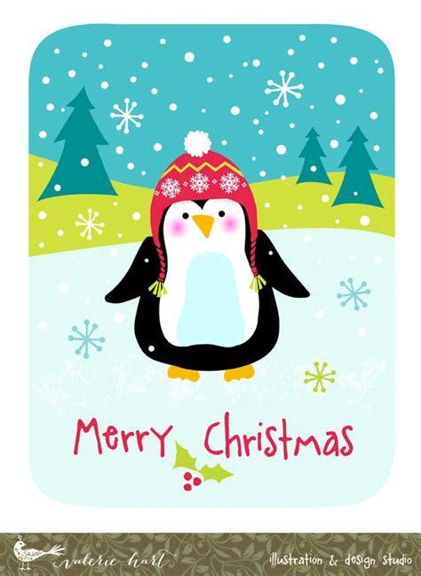 christmas penguin wishing   merry christmas valeriehartcom christmas images christmas