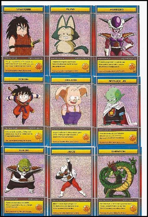 imagenes originales de dragon ball te muestro mis cartas de dragon ball z im 225 genes taringa