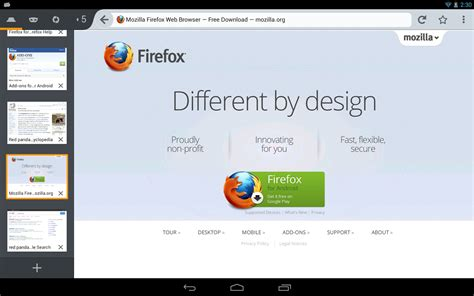 mozilla android firefox 27 beta 7 for android