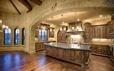 tile arch home design ideas pictures remodel and decor old world tuscan kitchen dreams pinterest