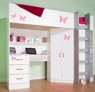Cabin Beds With Wardrobes by 17 Best Ideas About High Sleeper Cabin Bed On
