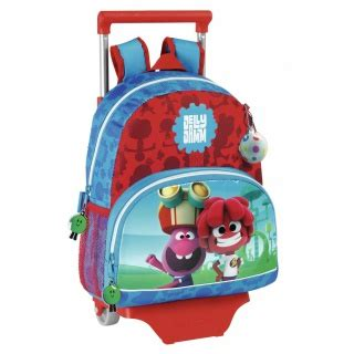 Buni Jelly ghiozdane scolare cu troler pentru copii