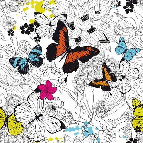 Papier Peint Motif Papillon 2271 by L 233 De Papier Peint 032013e Papiers Peints Design From
