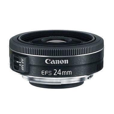 Lensa Cembung Kamera Canon jual canon ef s 24mm f 2 8 stm lensa kamera harga