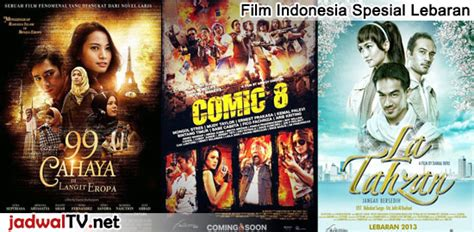 jadwal film natal di tv parade film indonesia spesial lebaran di tv lokal jadwal tv
