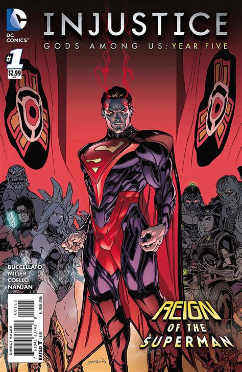 Pdf Justice League Vol Injustice America by Injustice Gods Among Us Year Five Vol 1 Dc Database