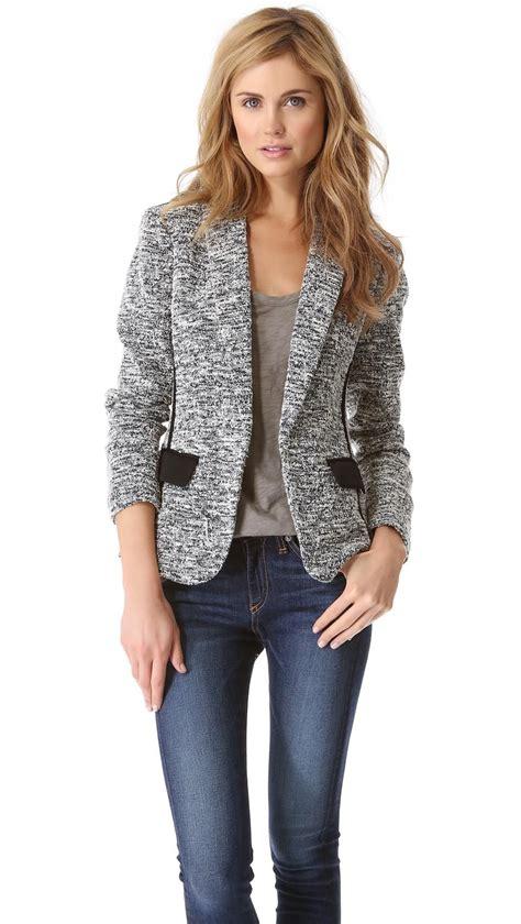 hairstyle on blazer rag and bone aviator blazer womens blazer womenswear