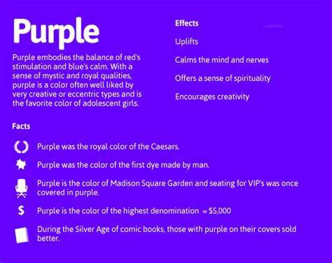 meaning of the color purple purple daily dose