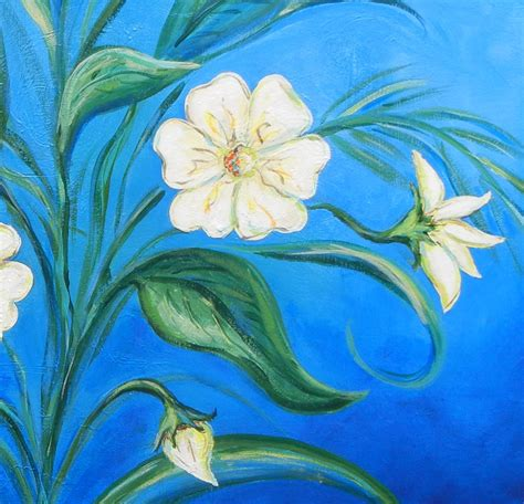 acrylic painting ideas flowers hazelwalkerdesigns inspired creations and workshops from