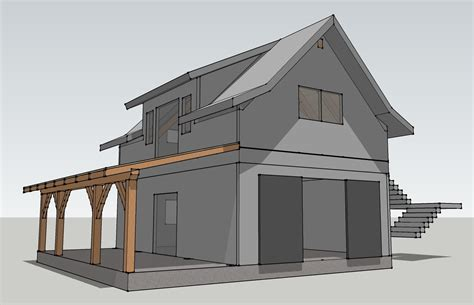 a frame house plans with garage timber frame garage plans post and beam garage plans