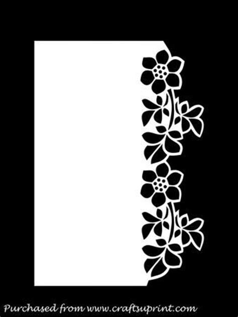 free svg card templates floral border the edge and the on