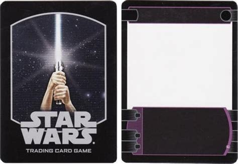 wars card template ccg fillers test prints wars tcg blank template card