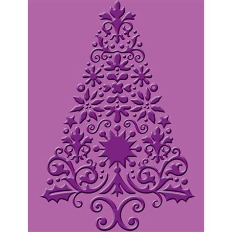 provo craft cuttlebug christmas embossing folder