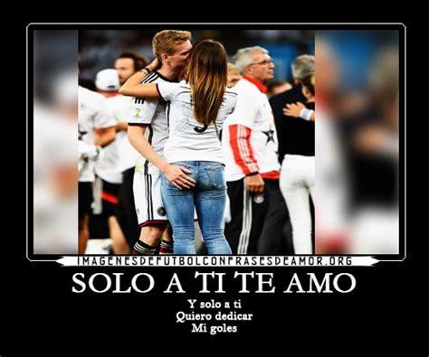 imagenes para mi novia de futbol frases romanticas de futbol