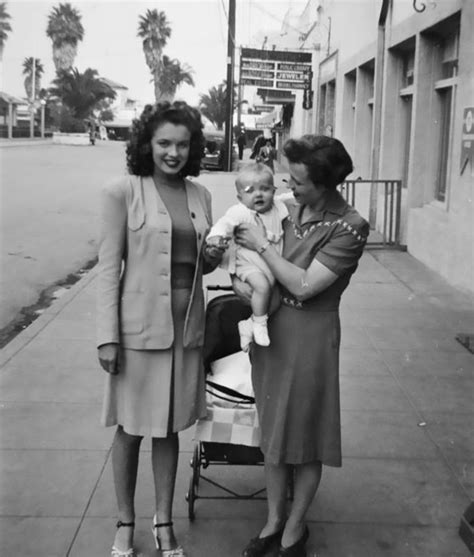 marilyn monroe parents 48 vintage photos of marilyn monroe before she was a star