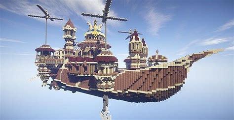 theater airship ms prima vista minecraft building