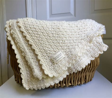 Crochet Baby Blanket Designs by Organic Cotton Baby Blanket And Simple By