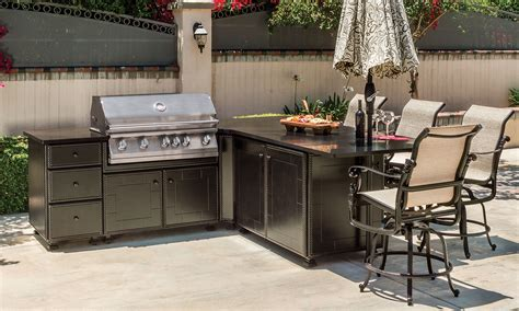 outdoor kitchen carts and islands outdoor kitchens gt paradise predesigned kitchen islands gt grill seating corner island gensun