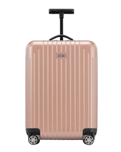 rimowa salsa cabin rimowa salsa air pearl cabin multiwheel in pink lyst