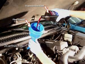 Hyundai Tucson Transmission Fluid Change How To Service An Automatic Transmission In 45 Minutes