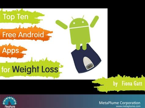 weight loss apps for android top ten free android apps for weight loss