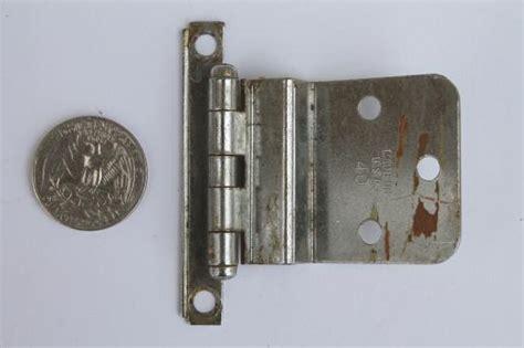 old kitchen cabinet hinges vintage deco chrome hinges kitchen cabinet hardware