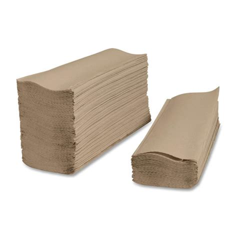 Folded Paper Towels - brown multi fold paper towels buy now gloves plus inc