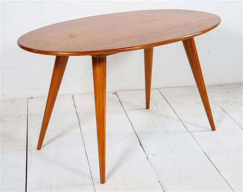 mid century accent table mid century italian oval accent table at 1stdibs