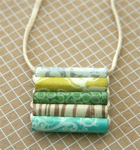 How To Make Paper Bead Jewelry - 25 best ideas about paper bead jewelry on