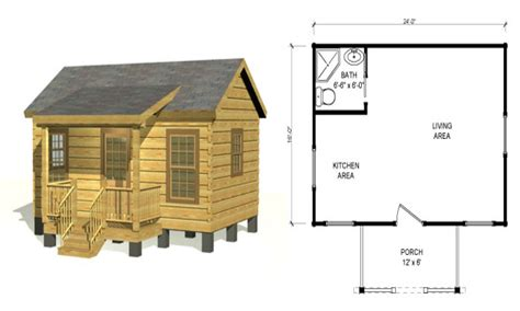 Log Cabin Blueprints | small log cabin floor plans rustic log cabins small