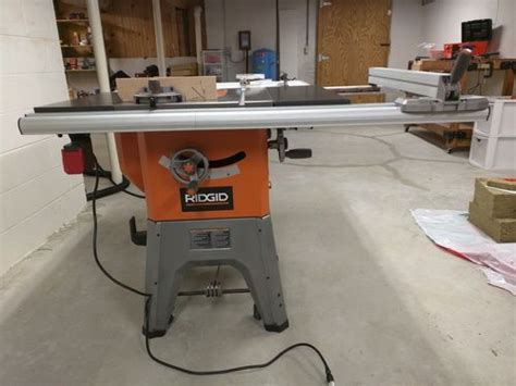 Ridgid 10 Quot Cast Iron Table Saw For Sale On Craigslist By