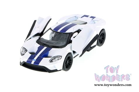 2017 ford gt top 5391fww 1 38 scale kinsmart