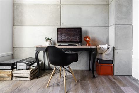home office desk archives digsdigs new york styled loft with industrial and minimalist