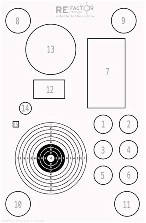 free printable tactical targets 17 best images about targets printable on pinterest