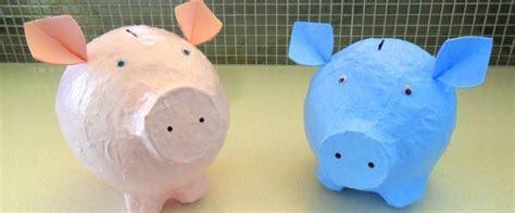 How To Make A Paper Bank - papier mache piggy bank brisbane