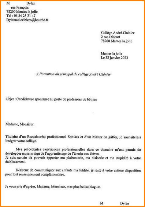 Exemple Lettre De Motivation Ecole As 5 Modele Lettre De Motivation Pour Ecole Format Lettre