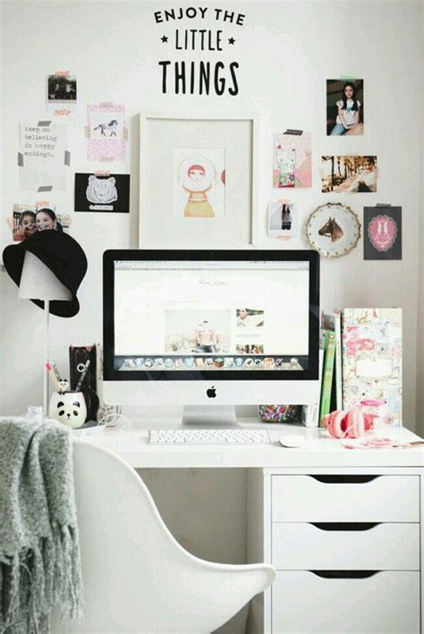 Decorate Your Office With A Computer by Decor Girly Office Room Image 4013013 By