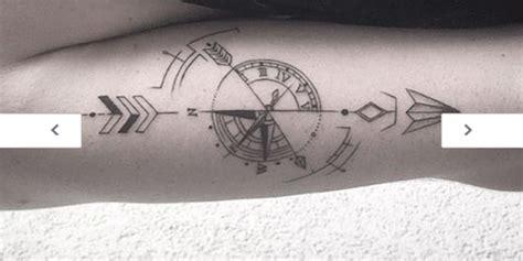 compass tattoo minimalist 19 best images about tatuointi ideat on pinterest