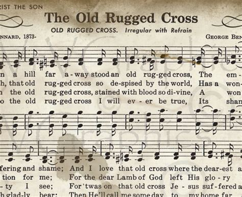 the rugged cross song the church pianist 187 archive 187 free piano arrangement of the rugged cross
