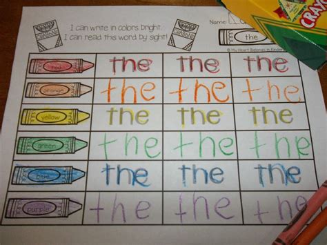 1000 ideas about rainbow writing on spelling journey into reading with rainbow writing 88 sight words