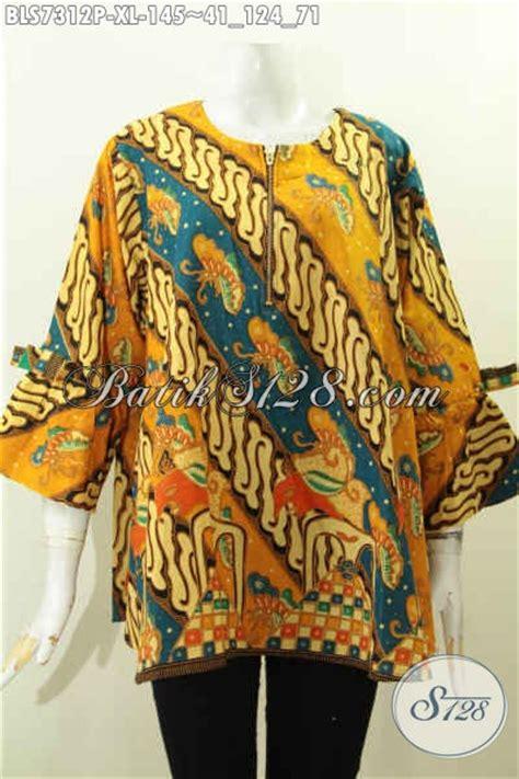 Dress Batik Bls 124 baju batik motif klasik a simetris busana batik blus
