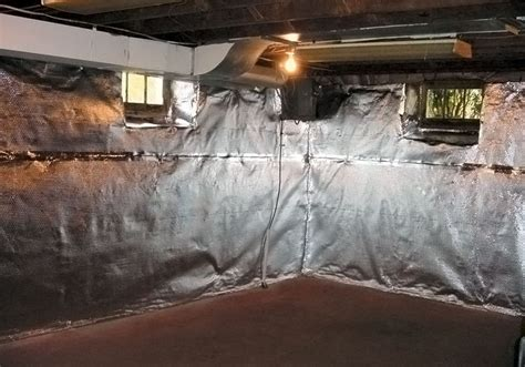 best vapor barrier for basement walls thermaldry wall radiant heat vapor barrier system