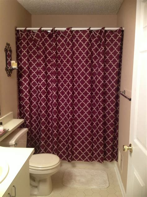 how to sew shower curtain diy no sew shower curtain sewing pinterest curtains