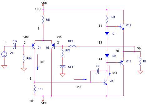 darlington transistor in ltspice basic audio lifier