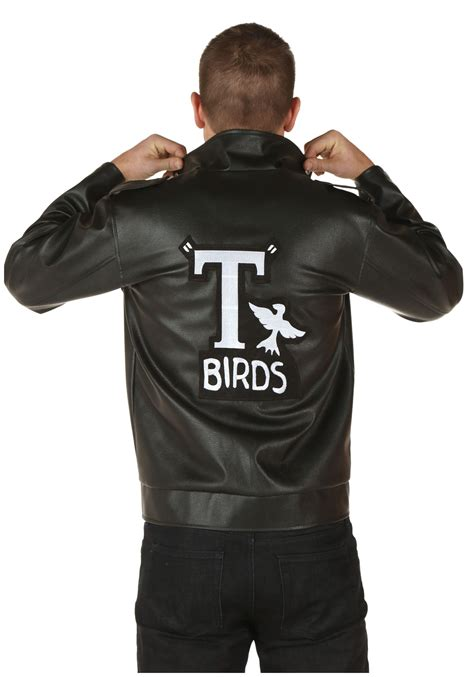 mens t bird grease jacket plus size grease authentic t birds jacket