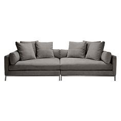 sofa too deep ventura 2 pc extra deep sofa from z gallerie love this