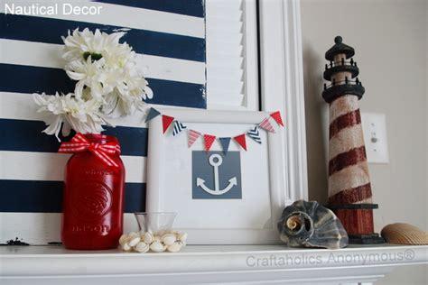nautical craft projects craftaholics anonymous 174 nautical mantel